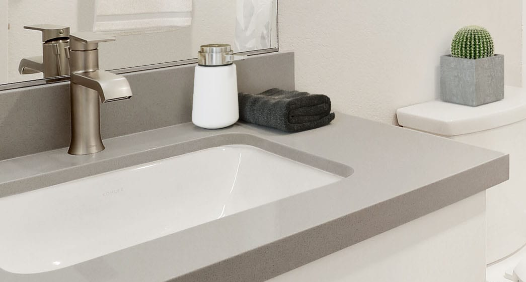 luxury fixtures in renovated luxury apartment bathrooms bayside village